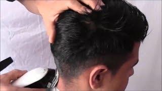 3 Cortes De Hombre Con Maquina Y Tijera Leonardo Ramirez Youtube