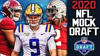 2020 NFL Mock Draft | End of Regular Season Edition