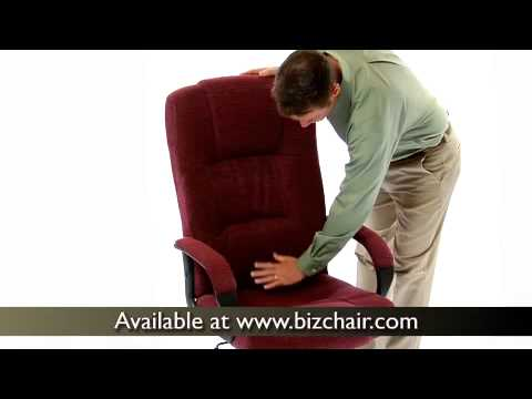 cloth office chairs antique ladder back high executive fabric chair bt 9022 bk gg youtube