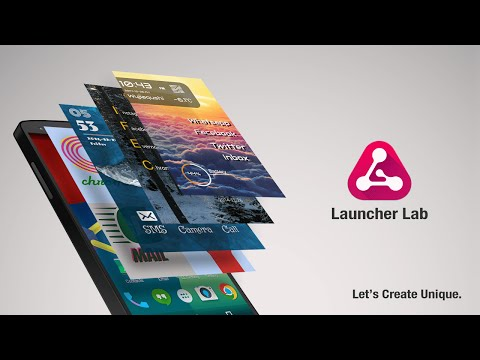 Launcher Lab —— Create Launcher Yourself
