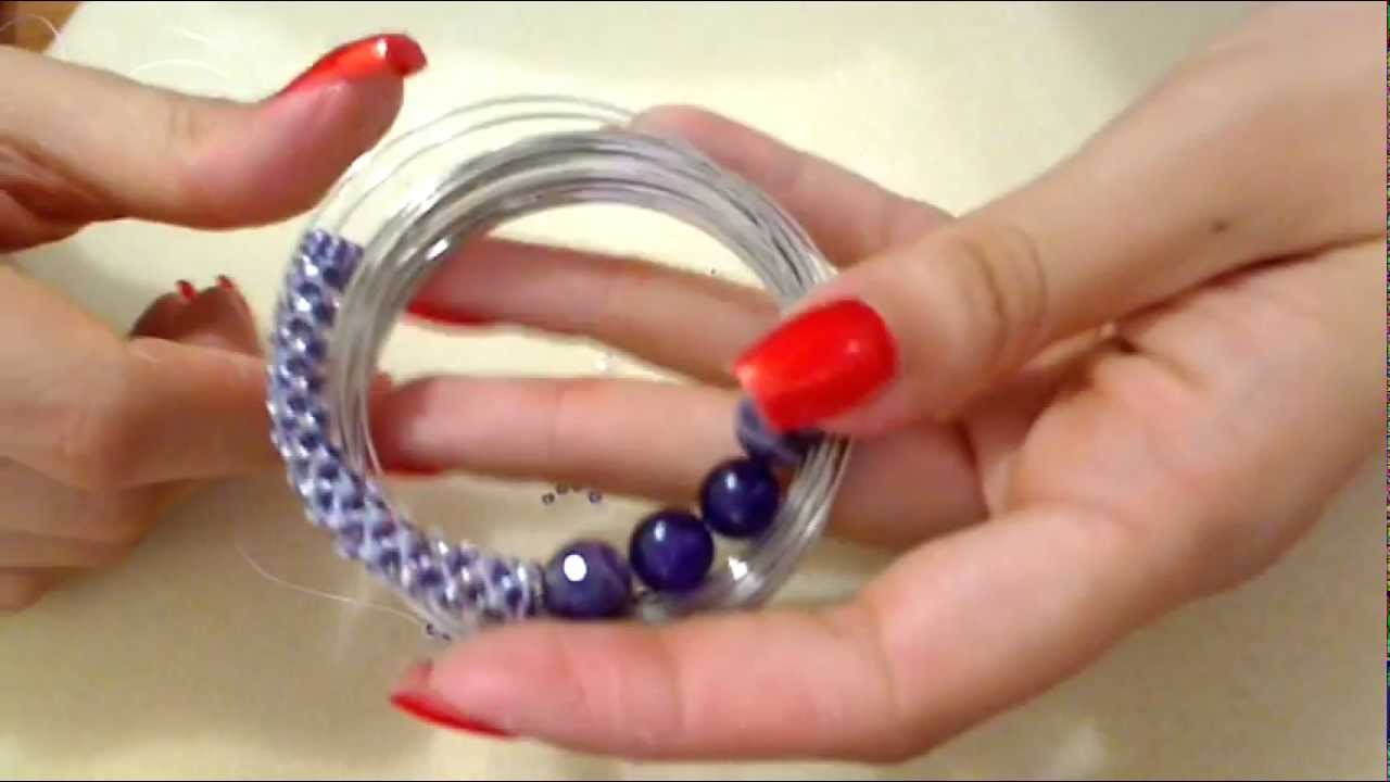Diy tutorial ciondolo perle e perline 2 come fare gioielli fai da.