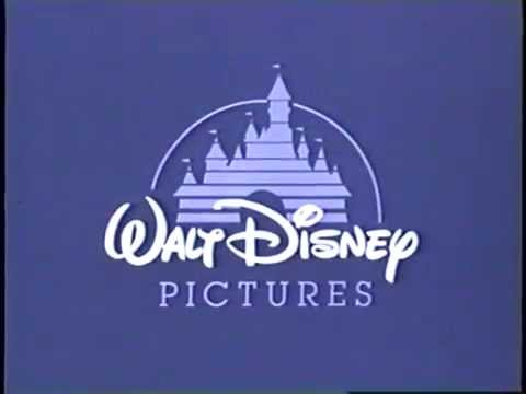 Walt Disney Pictures 1993 Company Logo Vhs Capture Youtube