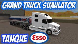 Grand Truck Simulator - Volvo VNL - Skin Tanque ESSO