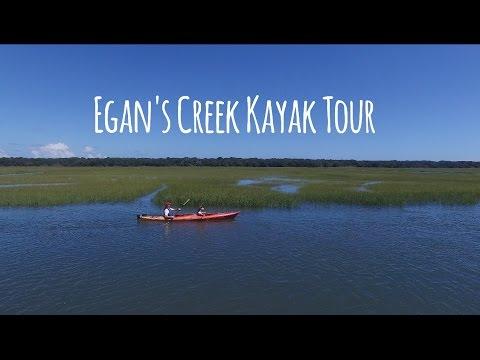 Egans Creek Kayak Tour - Tidal Marsh Estuary, Birds, Amelia Island Lighthouse - Amelia Adventures