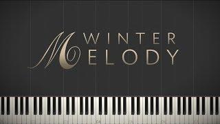 Winter Melody - Jacob's Piano \\ Synthesia Piano Tutorial
