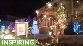 Brothers go all out for Christmas decorations to honor late mother