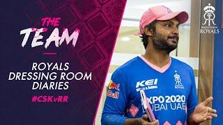 Royals Dressing Room Diaries CSK v RR   IPL 2021
