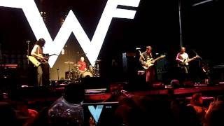 Hash Pipe & Back To The Shack (partial) - Weezer - Fpsf 2015 - Houston, Tx