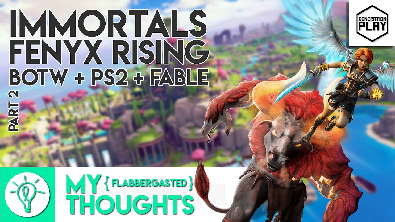 Immortals Fenyx Rising Gods And Monsters Is Fable Botw A Ps2 Game And That S Awesome Generation Play