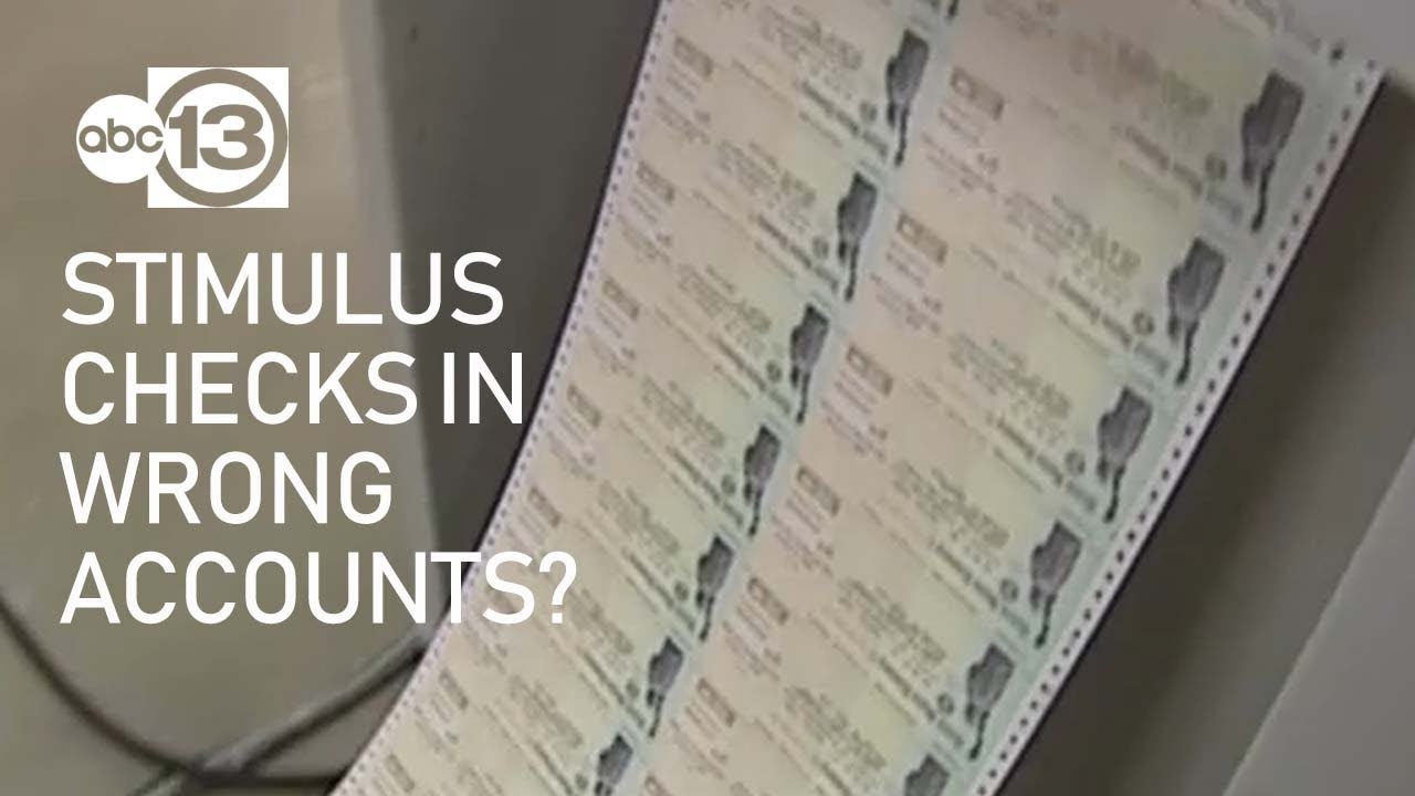Some stimulus checks are being sent to the wrong accounts: 'The ...