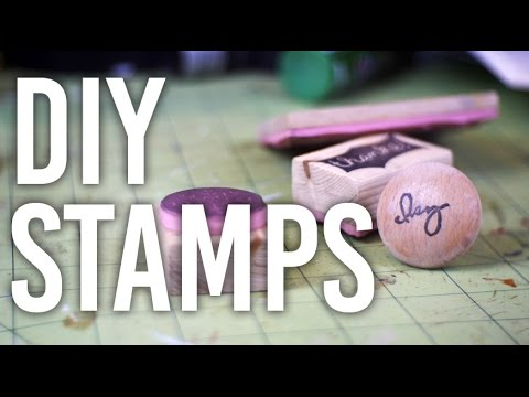 How to Make Custom Stamps - DIY