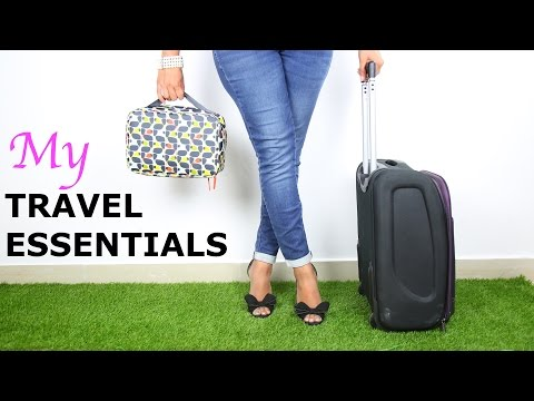 My Travel Essentials - The Ultimate Guide | ShrutiArjunAnand