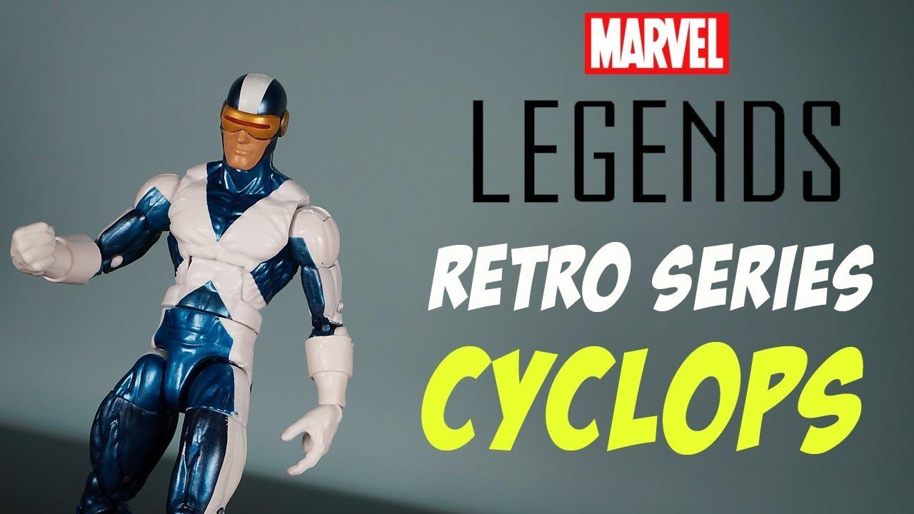 X-Men Retro 80 ans Marvel Legends Action Figures-Wolverine Storm Cyclops