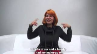 FeMaLe Agent  BaCkRooM Casting  FaKe Agent Czech Girls İnterview  17 ( falešný agent )český dabing