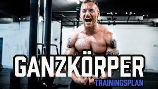 GANZKÖRPER TRAININGSPLAN für das Fitnessstudio | Workout für Anfänger und Fortgeschrittene im Gym