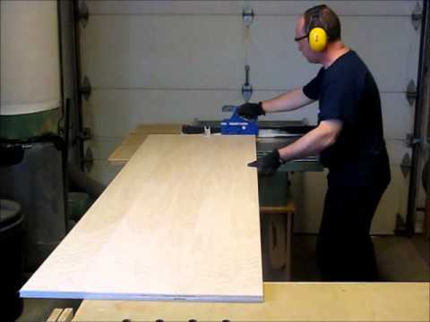 Comment fabriquer un caisson d 39 armoire youtube - Fabrication d un bureau en bois ...