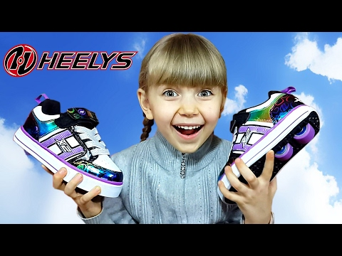 ❤ КРОССОВКИ ИЛИ РОЛИКИ? ❤ HEELYS: МОЙ ПЕРВЫЙ ЗАЕЗД! Учусь кататься на роликовых кроссовках Хилис 😀