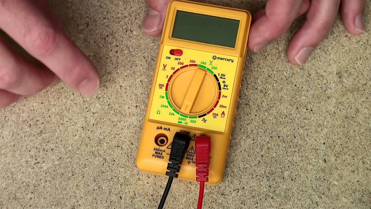 Circuit Breaker Tester They Are The Best Thing To Find Faulty How Use A Multimeter Test Components Youtube