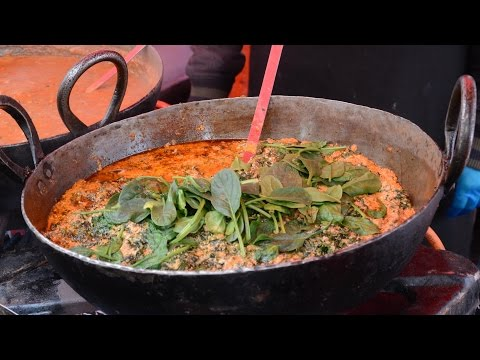 African Food from Ghana Tasted in London. Street Food of Portobello Road Market