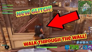 Fortnite Battle Royale Glitch (New) walk through the wall PS4/Xbox one 2018