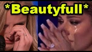 Top 10 MOST *EMOTIONAL & BEAUTIFUL* MOMENTS EVER on X Factor & Got Talent WORLD Wide!