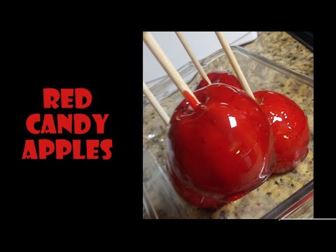 Same day candy apples