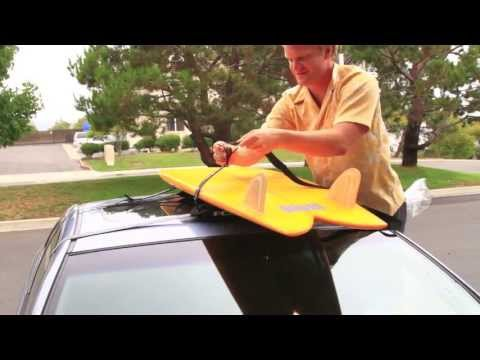 How to Put Soft Surfboard Racks on a Car - SWELL