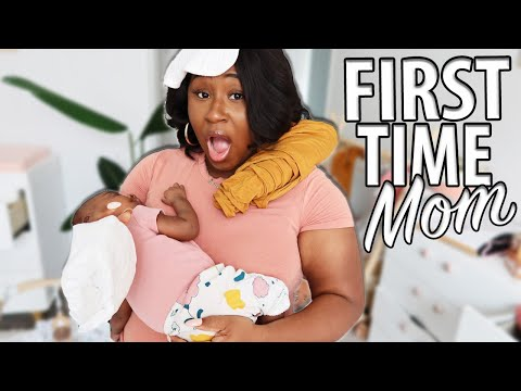 LIVING WITH A NEWBORN BABY!