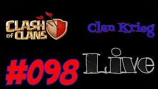 Clash of Clans Deutsch 098 Handy Clan Krieg Live