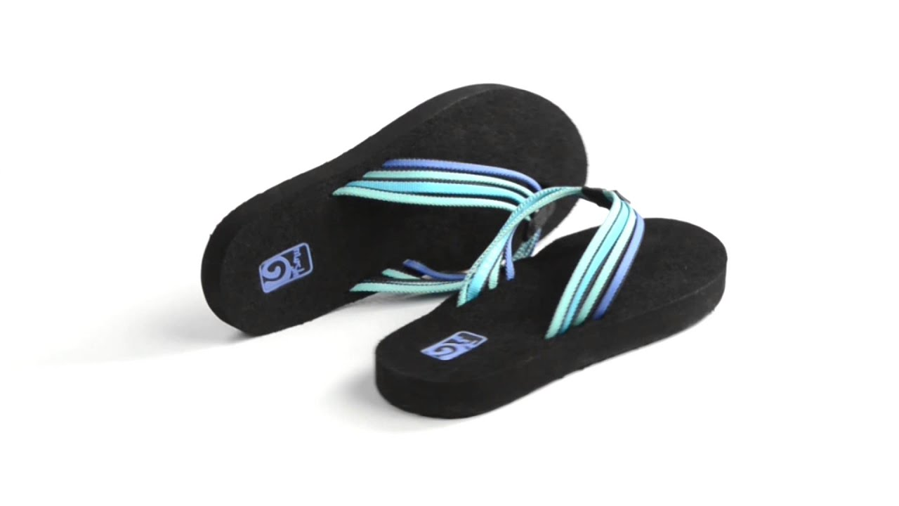 dc93509c7959 Teva Mush Adapto Thong Sandals - Flip-Flops (For Women) - YouTube