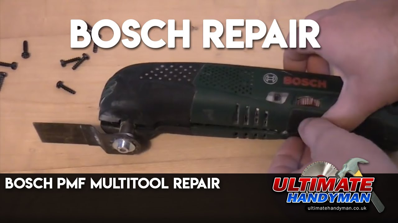 bosch pmf multitool repair youtube. Black Bedroom Furniture Sets. Home Design Ideas