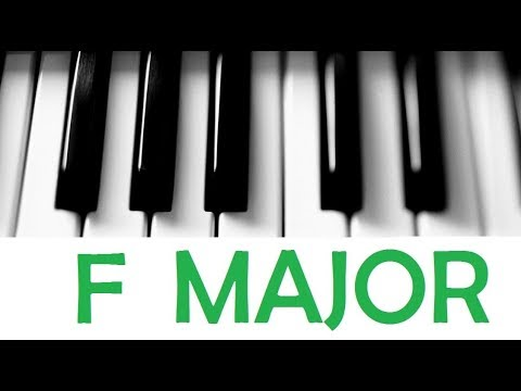 F Major Scale Chords All Scales Chords Tutorial 13 Youtube