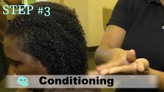 Wash & GO Like a Pro:  Step 3 - Unlock Curls by Adding Moisture & Hydration with Conditioning