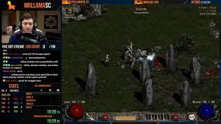 Diablo 2 - HELL RAINBOW NECRO SPEEDRUN
