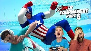 Captain America vs Denis! 2k18 Avengers Game Tournament Pt #6