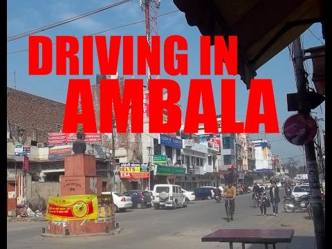 Ambala Cantt Market | Dashcam POV | Ambala Babyal | India