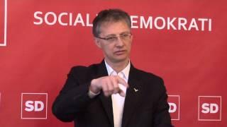 13.01.14 Novinarska konferenca SD - Igor Lukšič