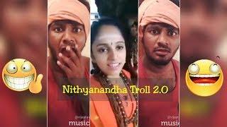 நித்யானந்த பெண்னை மரணக்கலாய் வீடியோ | Nithyananda Girl Troll | Done By Vijay Ravichander