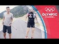 Cross-Country Olympian vs Freestyle Football YouTuber - Training Challenge   Hitting the Wall