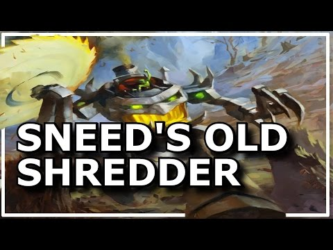Hearthstone - Best of Sneed's Old Shredder