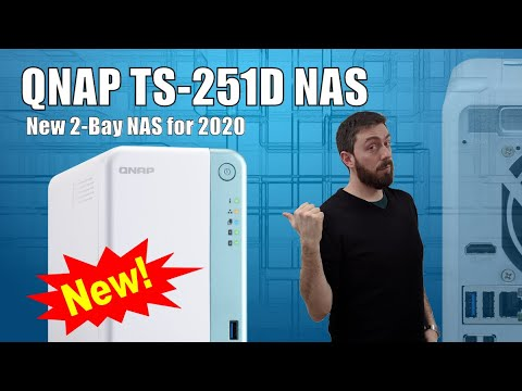 Best Home Nas 2020.New Qnap Ts 251d Nas Drive For 2020