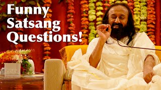 Funny Answers to Satsang Questions (Hindi) | Art of Living