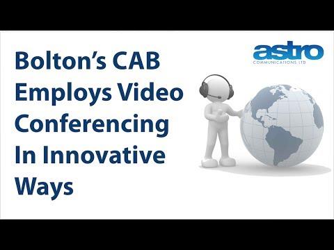 How Video Conferencing Makes Bolton's Citizens Advice Bureau So Popular