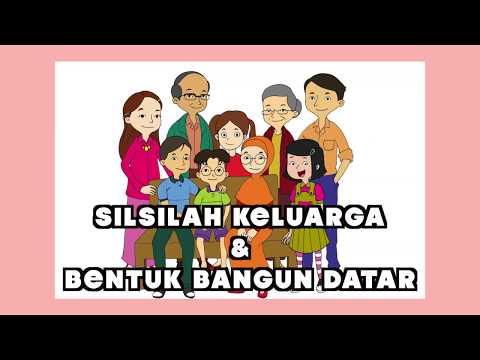 Kelas 01 - Tema 4 Subtema 3 - Silsilah Keluarga & Bentuk Bangun Datar | Video Pendidikan Indonesia