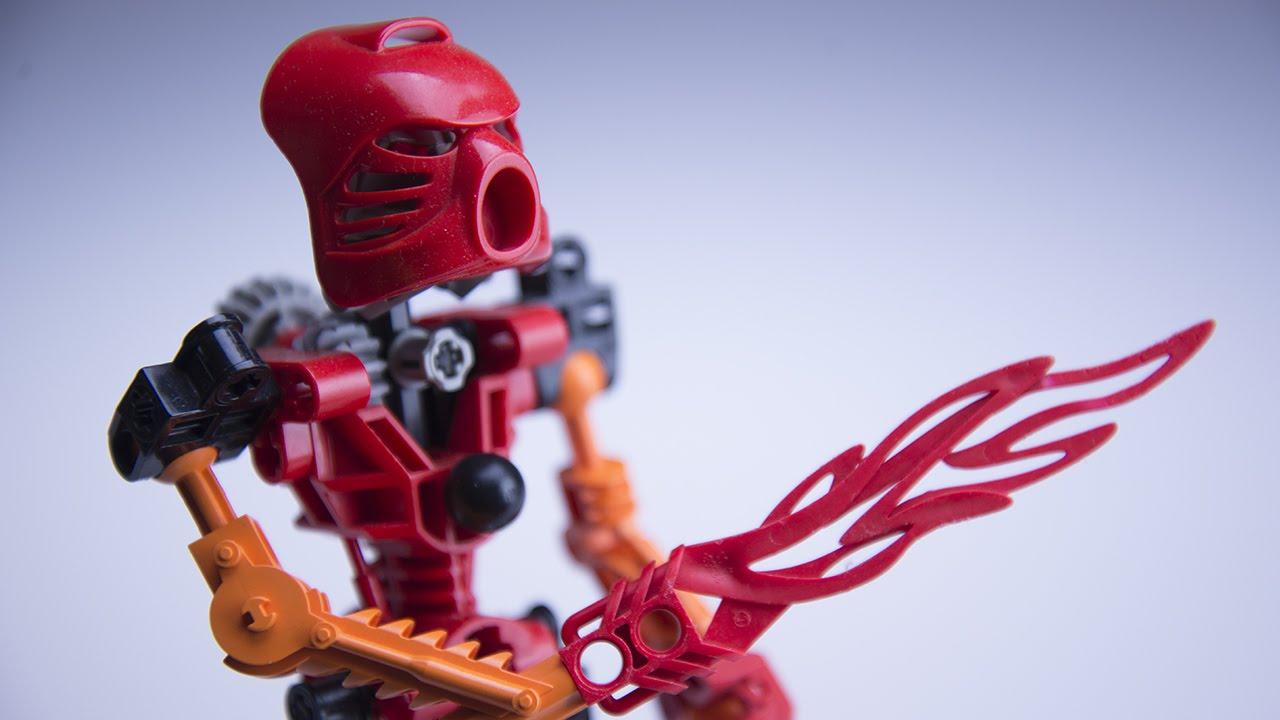 Toa Tahu - LEGO Bionicle Review (Retro Set Review 8534) Re ...  Toa Tahu - LEGO...