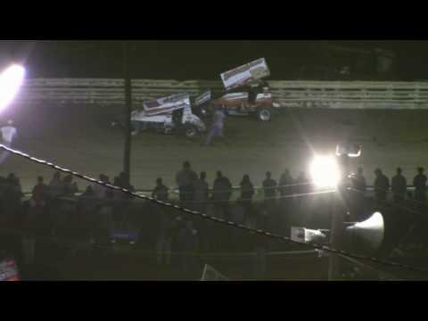 Port Royal Speedway Tuscarora 50 Highlights 9-12-09