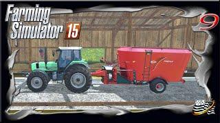 Farming Simulator 15 - vous et moi épisode 9 LES ANIMAUX - carrière suivie - multijoueurs