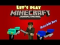 |Minecraft-Pocket Edition| Motorbike Race!! with (lildragon120)