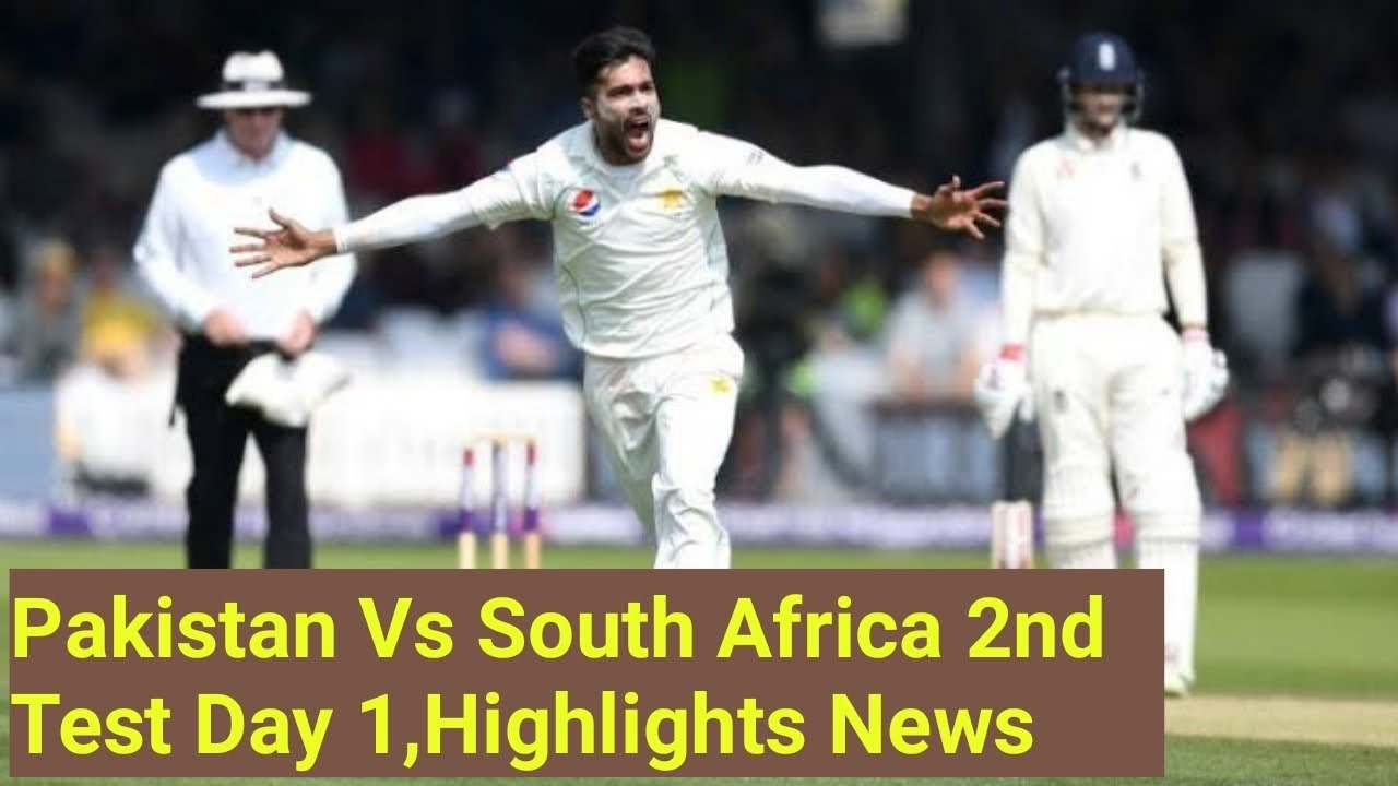 Pakistan Vs South Africa 2nd Test Match Day1 Full News ...