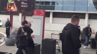 "Tifani tramp na aerodromu ""Nikola Tesla"" u Beogradu"